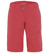 Vaude Women's Tamaro Shorts Damen MTB-Radhose, Flame/Apricot