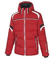 Vuarnet Giacca sci M-Catullo Jacket Man, Red/White Sail/Black
