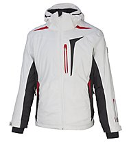 Vuarnet M-Ravel Skijacke, White Sail/Black/Red
