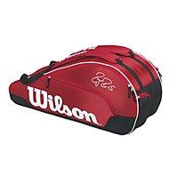 Wilson Federer Team III 6 Pack RD - Tennistasche, Red