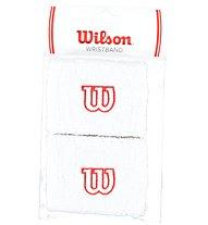Wilson Wristband polsino tennis, White