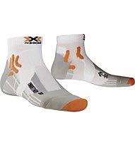 X-Socks Marathon Short calzini running, White
