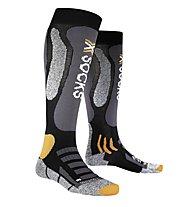X-Socks Ski Touring Silver, Black/Anthracite