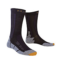 X-Socks Trekking Silver Calzini lunghi trekking, Black/Anthracite