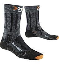 X-Socks Trekking Summer Calzini lunghi trekking, Grey/Black